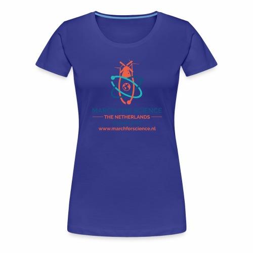 MfS-NL logo light background - Women's Premium T-Shirt