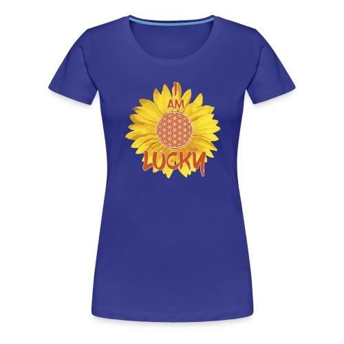 I AM LUCKY - Women's Premium T-Shirt