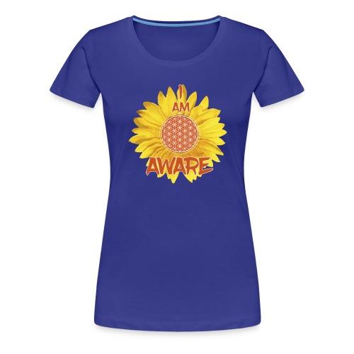 I AM AWARE - Women's Premium T-Shirt