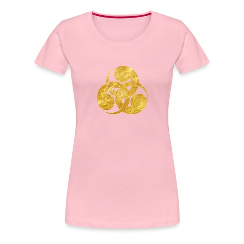 Tadpole Mon Japanese samurai clan - Women's Premium T-Shirt