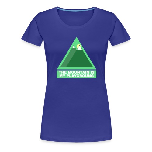 Mountain png - T-shirt Premium Femme