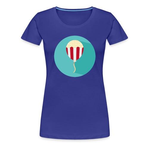 Palloncino // Pop Corn - Maglietta Premium da donna