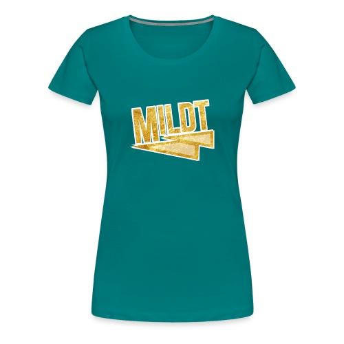 MILDT Gouden Mannen Shirt - Vrouwen Premium T-shirt