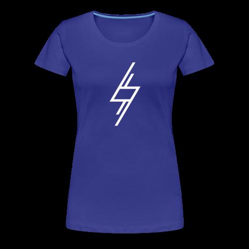 Sort T-Shirt - Dame premium T-shirt