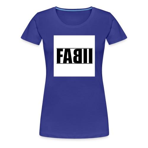 〓ғaвιι〓┋▌т-ѕнιrт ▌┋ғarвe änderвar┋ - Frauen Premium T-Shirt