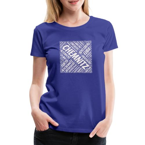 Chemnitz Stadtteile - Frauen Premium T-Shirt