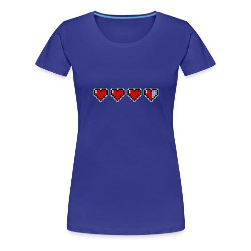 pixel hearts - Maglietta Premium da donna