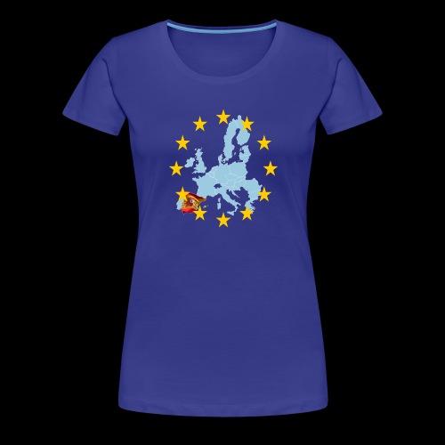 EU Spain (Europa Spanien) - Frauen Premium T-Shirt