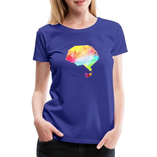 lsd brain - Frauen Premium T-Shirt