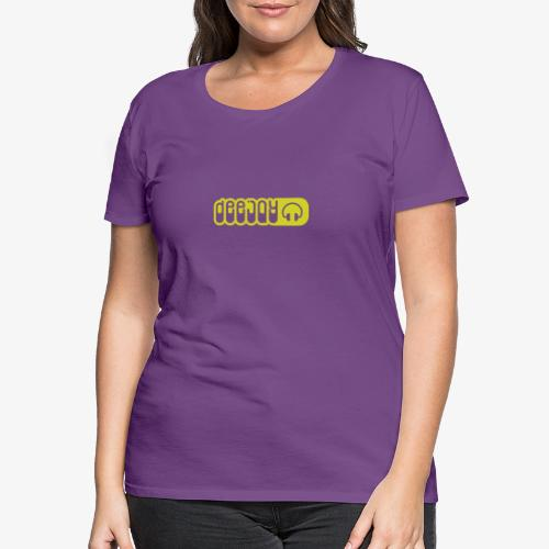 DJ - Camiseta premium mujer