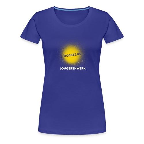 dockzz nl op gele verf jongerenwerk - Vrouwen Premium T-shirt
