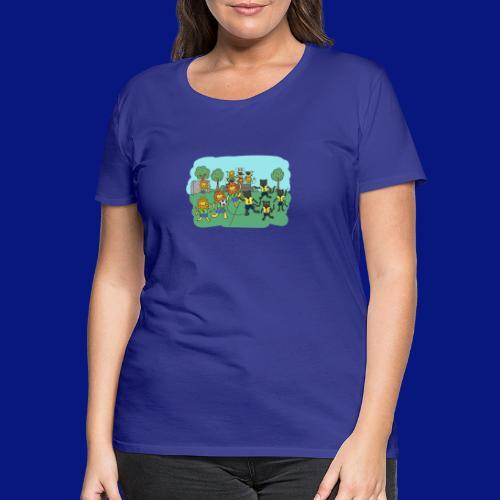 ENTRE AMIGOS - Camiseta premium mujer