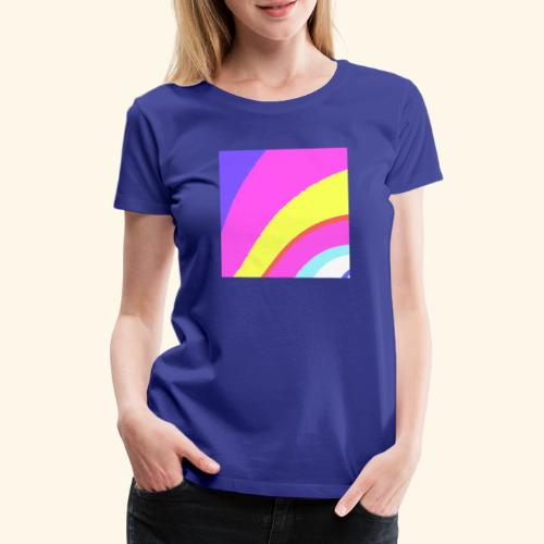 Curva colorata - Maglietta Premium da donna