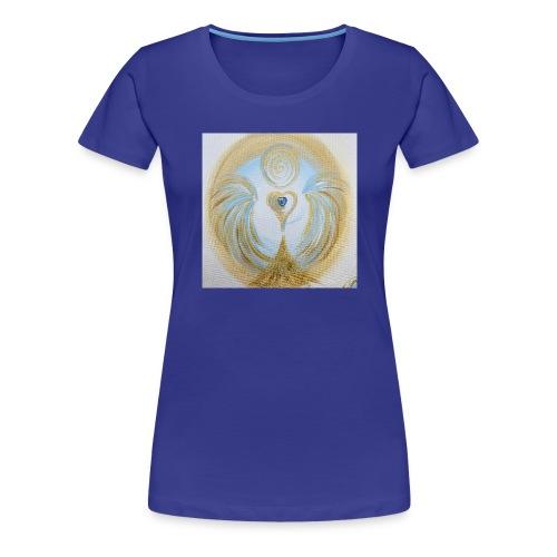 Herzengel der lichtvollen Zeit - Frauen Premium T-Shirt