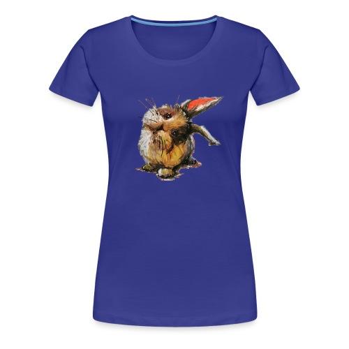 Hattu Möhrchen? - Frauen Premium T-Shirt