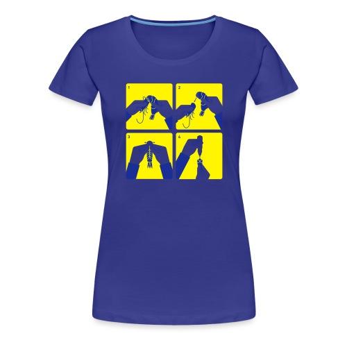 peel shrimp - Women's Premium T-Shirt