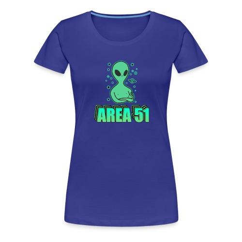 Storm Area 51 Memes - Women's Premium T-Shirt