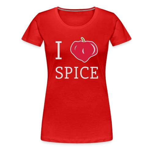 i_love_spice-eps - Naisten premium t-paita