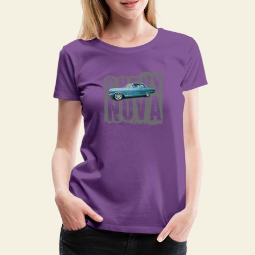 nova - Dame premium T-shirt