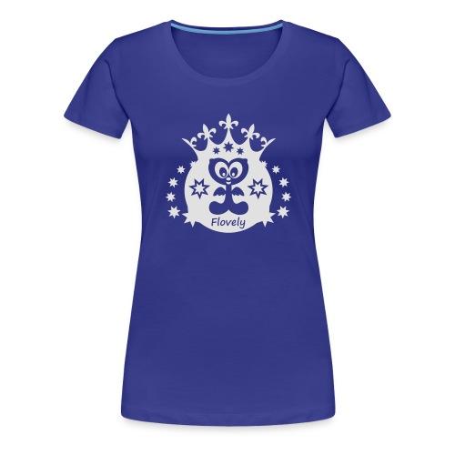 Flovely Krone - Frauen Premium T-Shirt