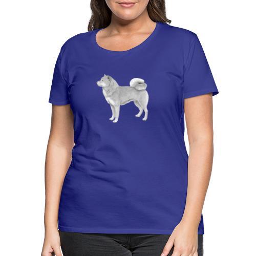 shiba inu - Dame premium T-shirt