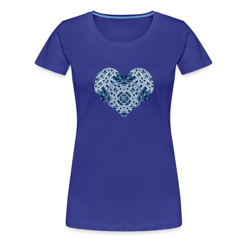 cold fraktheart3 - Frauen Premium T-Shirt
