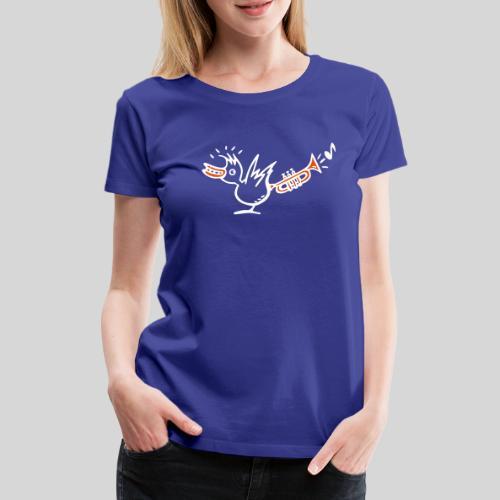 trompetenvogel - Frauen Premium T-Shirt