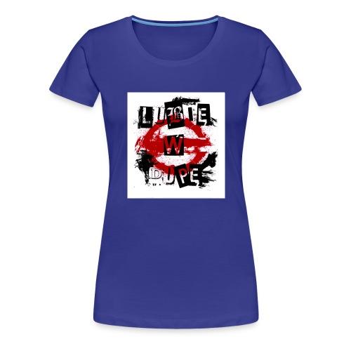 Logo lubie w dupe - Koszulka damska Premium
