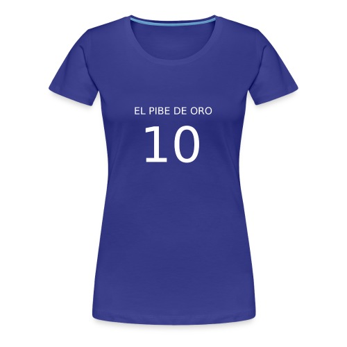 EL PIBE DE ORO - Maglietta Premium da donna
