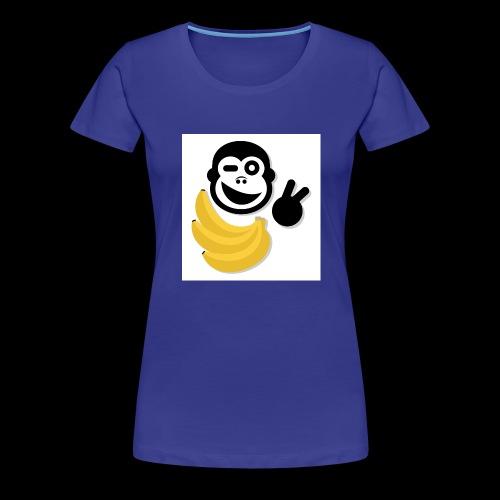 Treue Bananen Logo - Frauen Premium T-Shirt