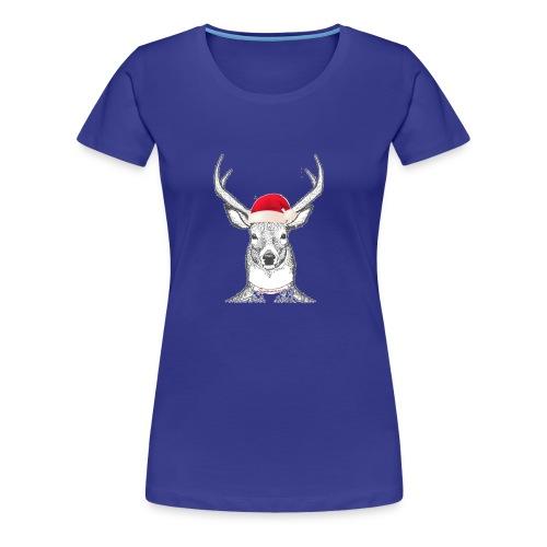 Santacomes.us - Premium-T-shirt dam