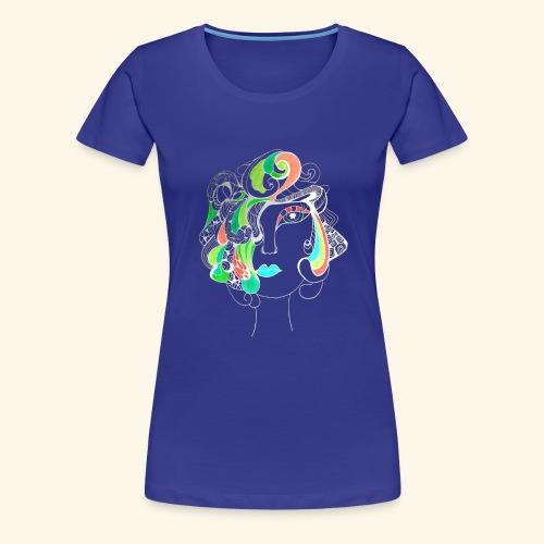 Damą być ! Negatyw - Koszulka damska Premium