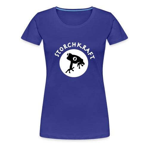 rettetfroschblank - Frauen Premium T-Shirt