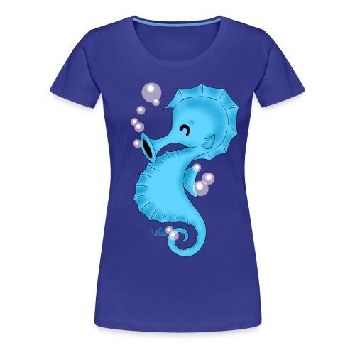 Seebastian Seepferdchen - Frauen Premium T-Shirt