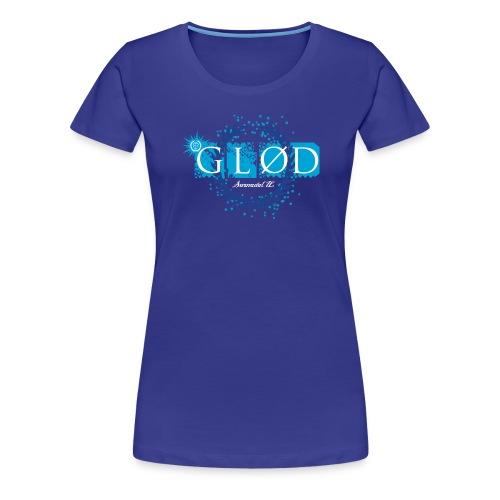 Logo_glod - Premium T-skjorte for kvinner