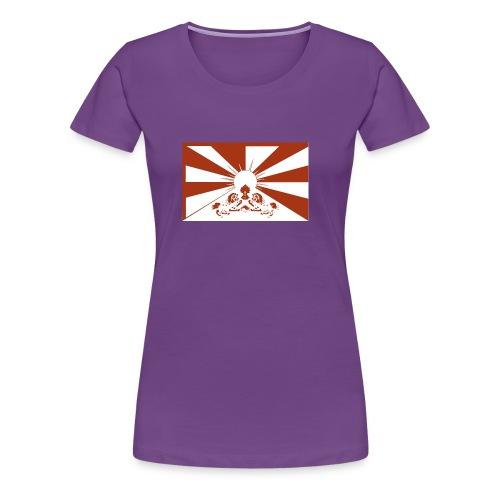 flag red - Frauen Premium T-Shirt