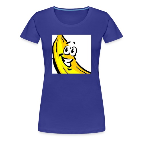 Bananenmannetjesshirt - Vrouwen Premium T-shirt