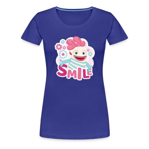Sorgenfresser Lilli Smile Blümchen - Frauen Premium T-Shirt