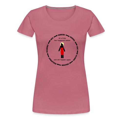 Battlestar Galactica all of this has happened - Camiseta premium mujer
