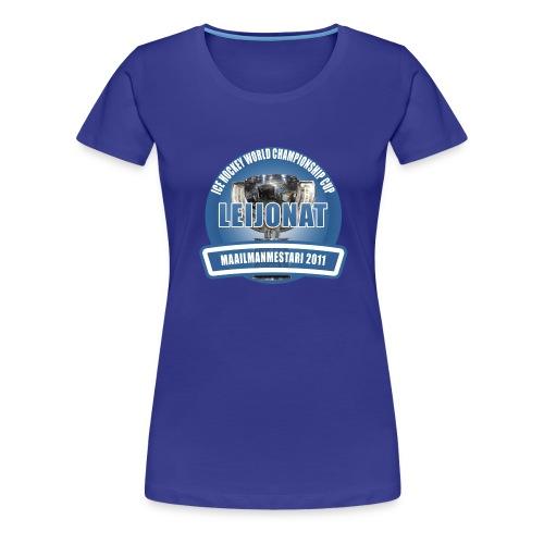 icehockeyworldchampionshipcup2011 - Naisten premium t-paita