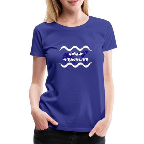 World Traveler - Women's Premium T-Shirt
