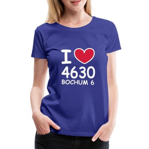 I ♥ 4630 BOCHUM 6 - Frauen Premium T-Shirt