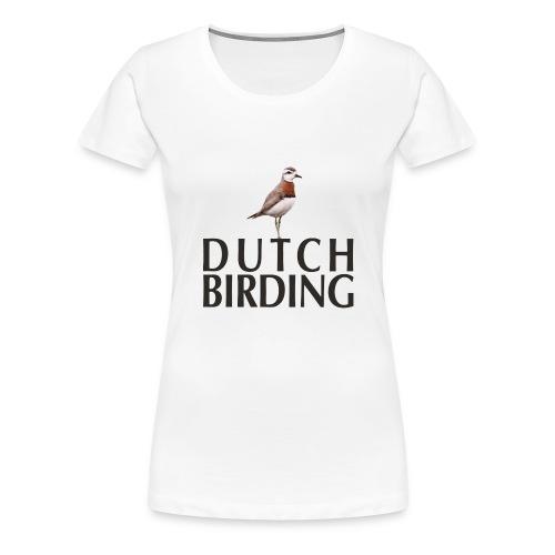 Kaspische Plevier Caspian Plover Charadrius - Vrouwen Premium T-shirt