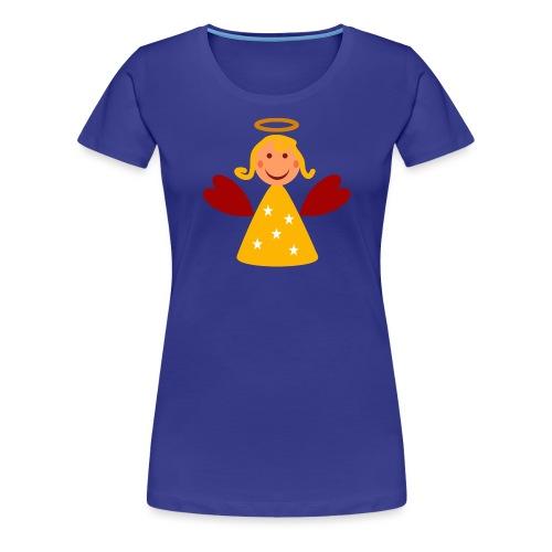 Schöner Engel mit Heiligenschein Süßes Engelchen - Frauen Premium T-Shirt