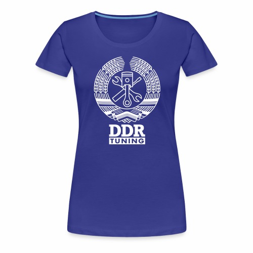 DDR Tuning Coat of Arms 1c - Women's Premium T-Shirt