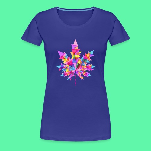 Mary Jane pink - Dame premium T-shirt