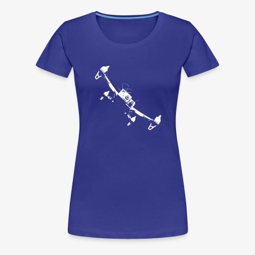 quadflyby2 - Women's Premium T-Shirt