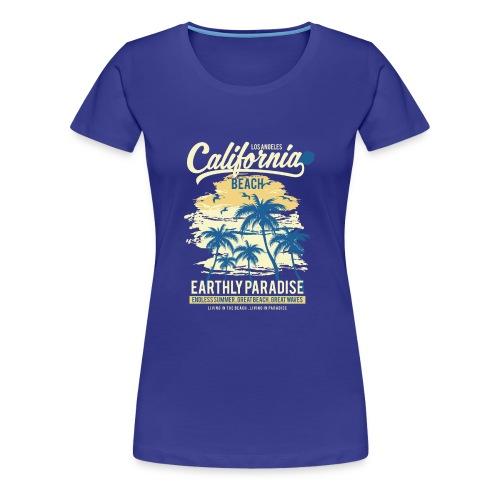 California Beach classic - Women's Premium T-Shirt