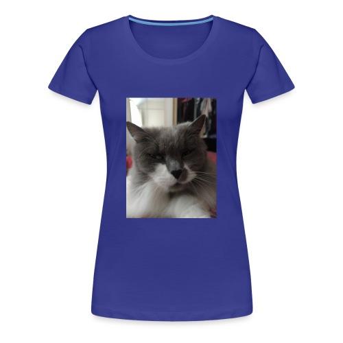 Moody cat - Women's Premium T-Shirt