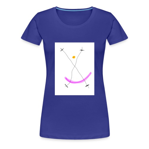 64FB8425 2DD5 4821 BDA2 8F0B9E31CF77 - Dame premium T-shirt